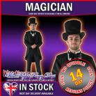 FANCY DRESS COSTUME ~ Disney Great & Powerful Oz MAGICIAN STD - Adult Costume